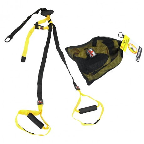Body Sculpture Total Body Suspension Trainer With Carry Bag And DVD bb-2400